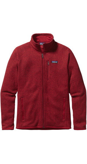Patagonia Better Sweater Jas rood
